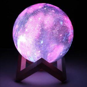 Galaxy Månlampa 3D