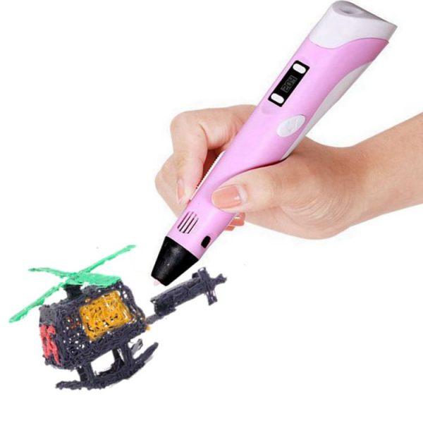 3D Penna med display