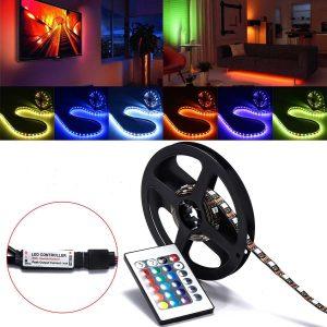 LED-slinga med fjärrkontroll