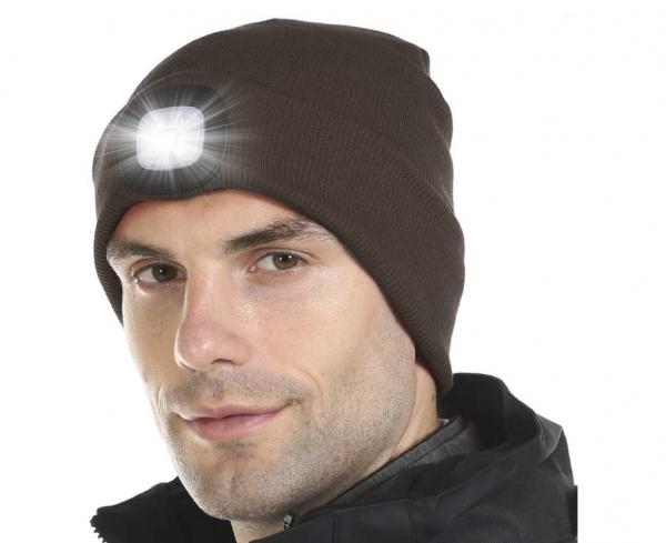 Värmande LED-mössa