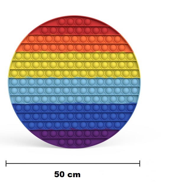 50 cm Popit Fidget Rainbow