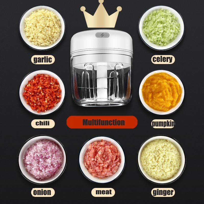 Elektrisk grönsaksskärare - Minimixer 250 ml