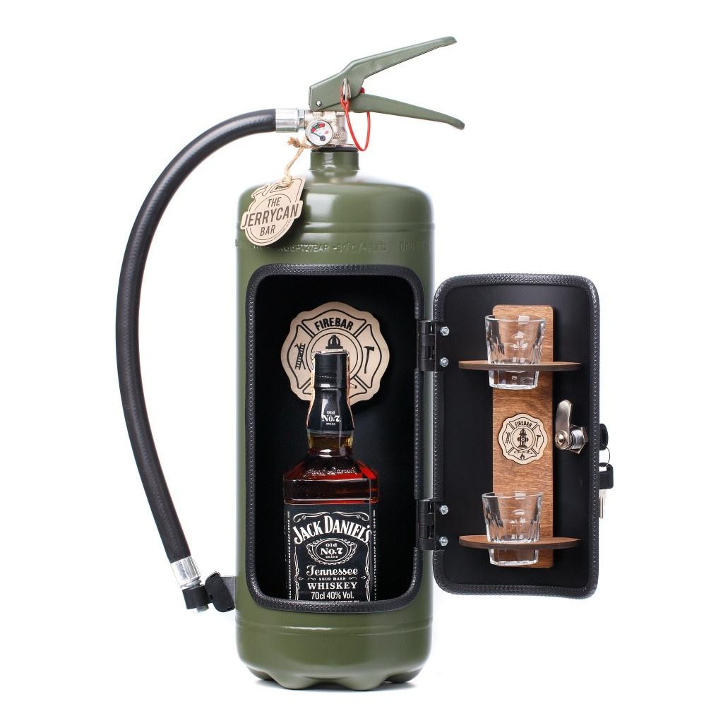 Minibar brandsläckare - Firebar Grön